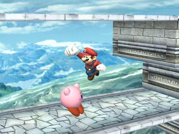 Oh no... Kirby's gonna get it!