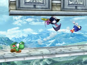 Wow, Yoshi seems to be taking it well to MetaK, and Zelda.