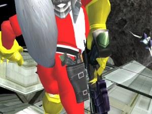 Wait he always carries 2 blasters