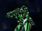 Neon green Falcon